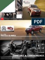ISUZU D MAX DoubleCab Brochure
