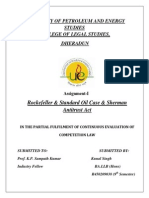 Rockefeller & Standard Oil Case & Sherman Antitrust Acty Assignment.docx