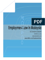 Employment Law in Malaysia Read Only