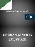 Ukuran Kinerja Eva vs Roi