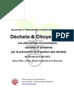 Rapport 3°Rencontres D&C_2013
