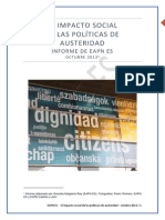 Informe Impacto Social Austeridad Octubre2013