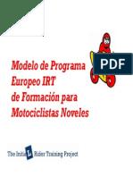 Manual de conducción segura para motocicletas