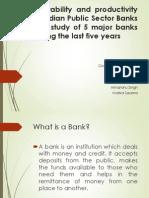banking work finance profitability