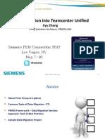 Data Migration Into Teamcenter Unified v1.0