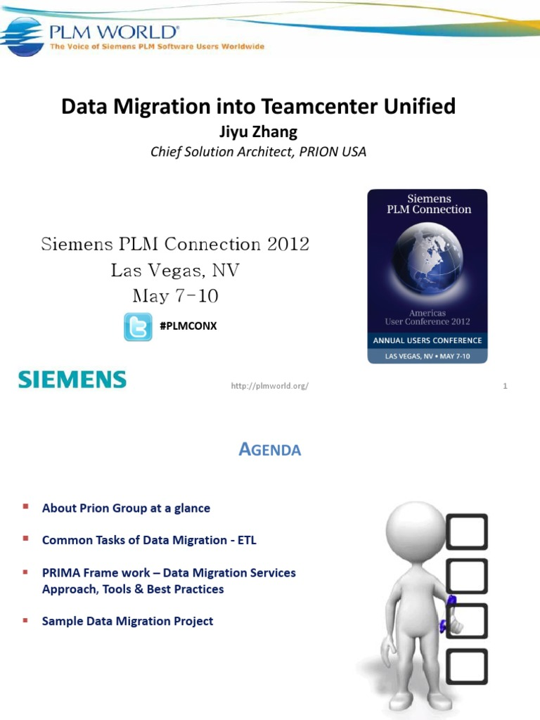 Data Migration Into Teamcenter Unified v1 0 | Product Lifecycle (1 7