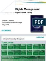 Enterprise Rights Management as Enabler for Doing Business Today