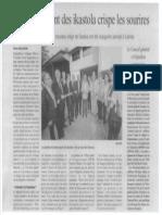 Inauguration Du College Xalbador