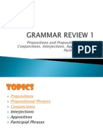 Grammar Review 1
