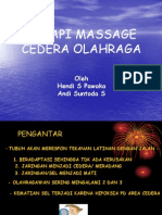 Massage, Terapi Cedera or.