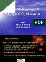Massage, Terapi Cedera or.