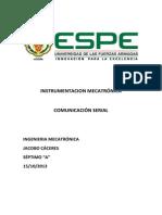 Consulta Instrumentacion Puerto Serial