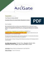 Arc Gate