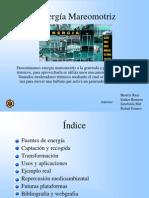 Estudio de energía Mareomotriz