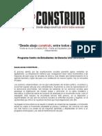Programa CED - Lista 5 - Desde abajo construir entre todos avanzar.doc