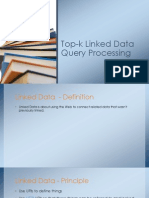 Linked Data+Top-K Query Processing