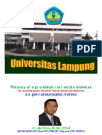 Sutikno Lampung Slide Potency Waste for Bioethanol 090205