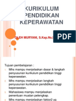 1. Kurikulum Pendidikan Perawat