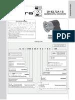 Catálogo Encoder Incrementali EL721A500Z5L6S3MR