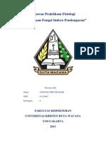 Tugas Laporan Fisiologi Pendengaran Enggie 4111002