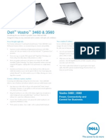Vostro 3460 3560 Customer Brochure English