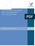 Optimizing Settlement Risk Management - CLS and Beyond