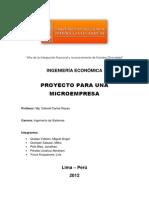 Proyecto Entregable
