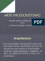 Arte Paleocristiano. Domus Ecclesiae