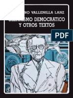 Vallenilla Lanz Cesarismo Democrático