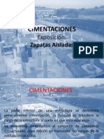 Zapata Aislada Expo