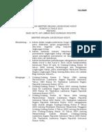 Permen LH No 03 Tahun 2010 Ttg Baku Mutu Air Limbah Bagi Kawasan Industri