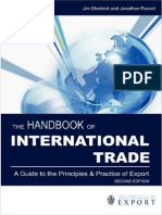 Business - Handbook of International Trade - Practice of Export - GMB - 2008