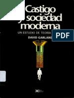 Castigo y Sociedad Moderna-Garland, David