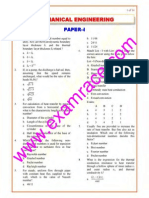 IES Mechanical Engineering Paper 1 2007