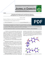 Hydrothermal Synthesis and Crystal Structure