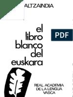 Libro Blanco Euskera