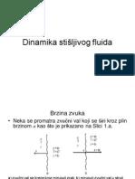 1 - Dinamika Stisljivog Fluida - Brzina Zvuka - Machov Broj - Podrucja Strujanja Prema Ma Broju