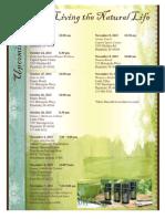 Do Terra Schedule