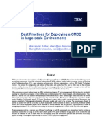 best practices for deploying a CMDB in large-scale environments