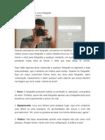 10 dicas para melhorar como fotógrafo