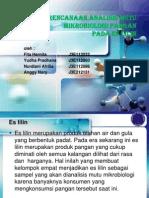 Perencanaan Analisis Mutu Mikrobiologi Pangan