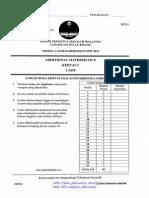 Penang Trial SPM 2013 Add Maths