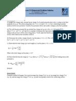 Jackson 2 3 Homework Solution