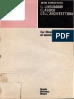Summerson Il+Linguaggio+Classico+Dell'Architettura