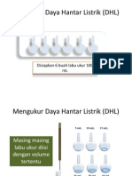 Mengukur Daya Hantar Listrik (DHL)