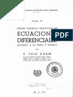 Puig Adam Ecuaciones Diferenciales II