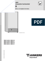 Datos técnicos calderas Junkers ZWC 24/28-1 MFA 23, ZWC 24/28-1 MFA 31, ZWC 28/32-1 MFA 23, ZWC 28/32-1 MFA 31