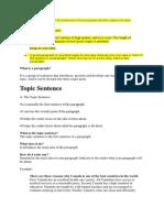 Topic Sentence.docx