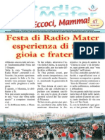 Radio Mater Giornalino 47