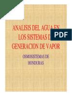 Analisis e Interpretacion Calderas